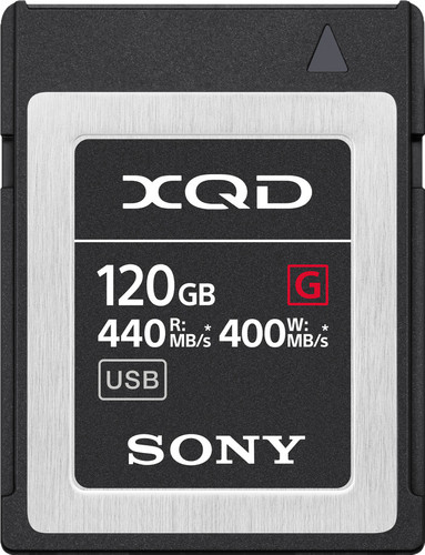 Sony XQD G 120GB High Speed R440 W400 Main Image
