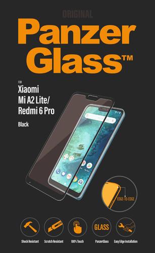 PanzerGlass Protège-écran Verre Xiaomi Mi A2 Lite (Redmi 6 Pro) Noir Main Image