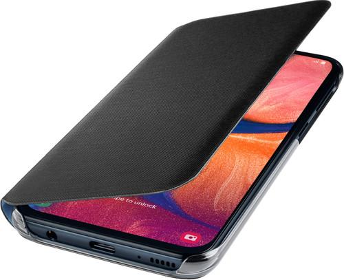 Samsung Galaxy A20e Wallet Book Case Zwart Main Image