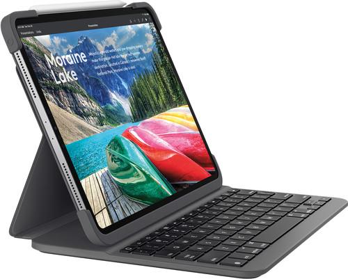 Logitech Slim Folio Étui Clavier Apple iPad Pro 11 pouces (2018) AZERTY Main Image