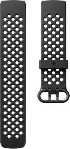 Fitbit Charge 3 Sportband Silicone Black S Main Image