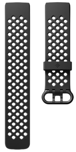 Fitbit Charge 3 Sportband Silicone Black L Main Image