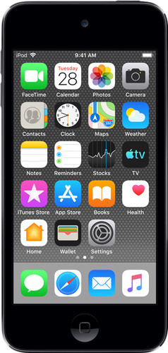 Apple iPod Touch (2019) 128 GB Space Gray Main Image