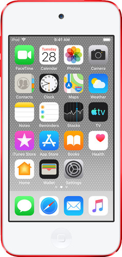 Apple iPod Touch (2019) 256 GB RED Main Image