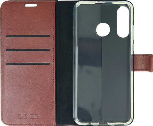 Valenta Booklet Gel Skin Huawei P30 Lite Brown Leather Main Image
