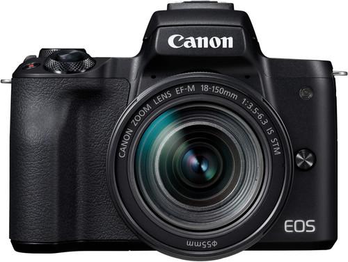 Canon EOS M50 Boîtier Noir + 18-150 mm IS STM Main Image
