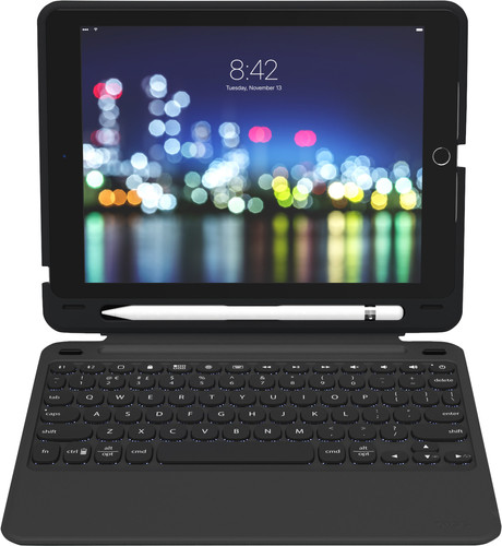 ZAGG Slim Book Go Apple iPad 9.7 inch (2017/2018) Keyboard Cover AZERTY Black Main Image