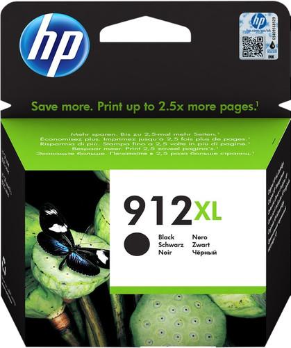 HP 912XL Cartridge Zwart Main Image
