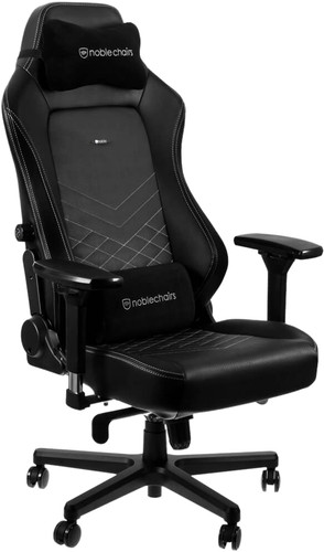 Noblechairs HERO Gaming Stoel PU Faux Leather - black /white Main Image