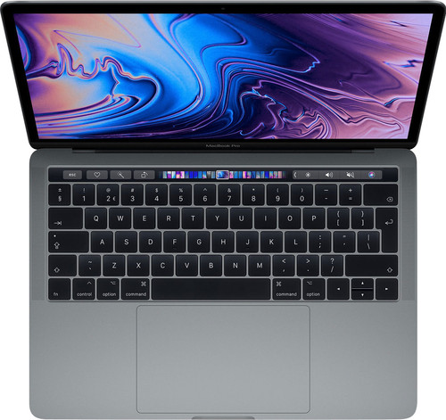 Apple MacBook Pro 13-inch Touch Bar (2019) MUHN2FN/A Space Gray AZERTY Main Image