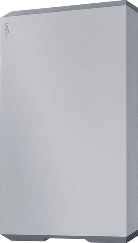 LaCie Mobile Drive USB-C Space Grey 4TB Main Image