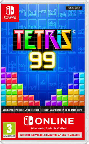 Tetris 99 + Nintendo Switch Online Main Image