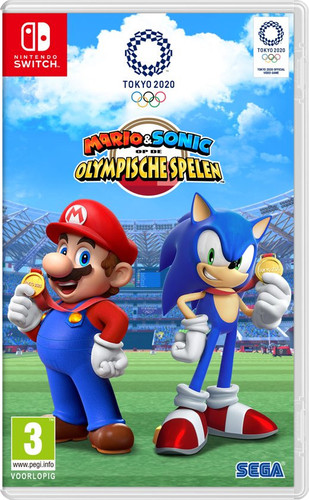 Mario & Sonic at the Olympic Games: Tokyo 2020 Switch Main Image