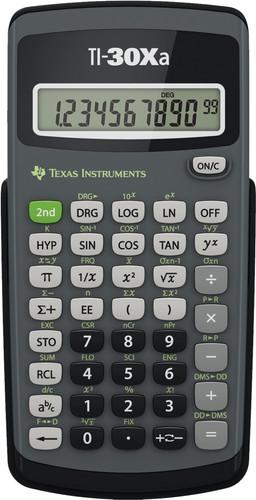Texas Instruments TI-30XA Main Image