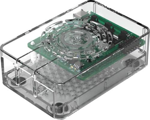 Multicomp Pro Raspberry Pi 4 behuizing - Power knop - Doorzichtig Main Image