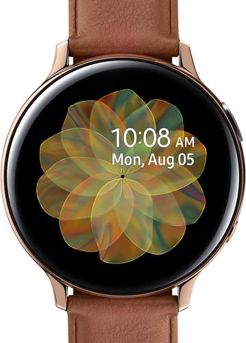Samsung Galaxy Watch Active2 44 mm Inox Or/Brun Main Image