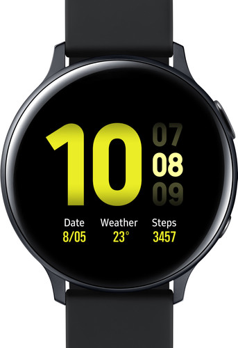 Samsung Galaxy Watch Active2 44 mm Aluminium Noir Main Image
