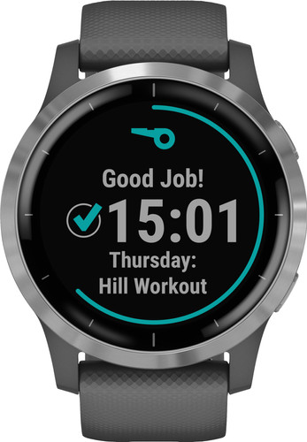 Garmin Vivoactive 4L - Silver/Dark gray - 45mm Main Image
