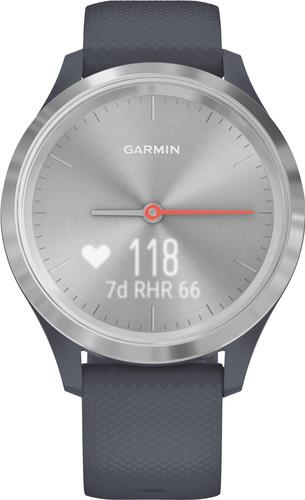 Garmin Vivomove 3S Sport - Zilver/Donkerblauw - 39 mm Main Image