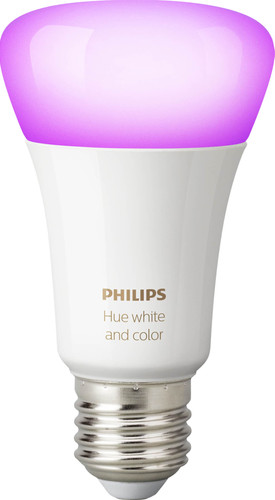 Philips Hue White and Color E27 Ampoule séparée Bluetooth Main Image