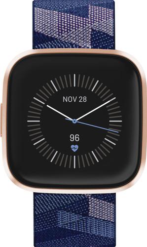 Fitbit Versa 2 Édition spéciale Cuivre/Bleu Main Image