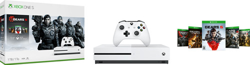 Microsoft Xbox One S 1 To + Gears 5 Main Image