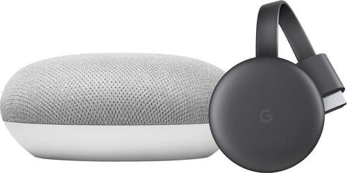 Google Home Mini + Google Chromecast V3 Main Image