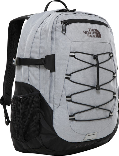 "The North Face Borealis Classic 15"" Mid Grey Heather/TNF Black 29L Main Image"