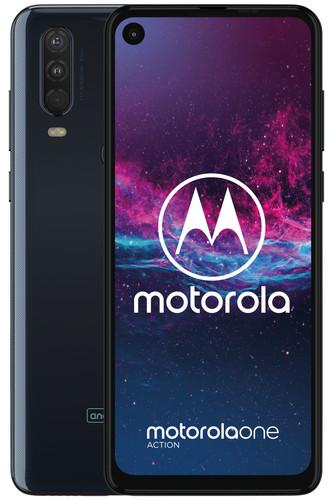 Motorola One Action Bleu Main Image