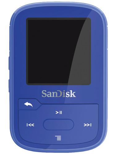 Sandisk Clip Sport Plus Blauw Main Image