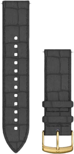 Garmin Leather Strap Black 20mm Main Image