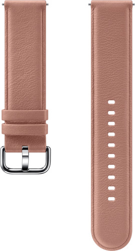 Samsung Galaxy Watch Active 2 Leather Strap Pink Main Image