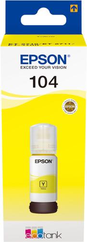 Epson 104 Inktflesje Geel Main Image