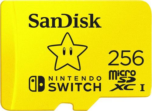 SanDisk MicroSDXC Extreme Gaming 256GB Main Image