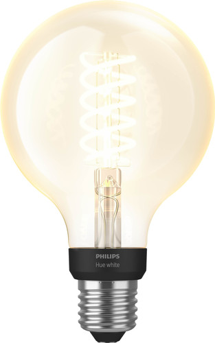 Philips Hue Ampoule à filament White Globe E27 Bluetooth Main Image