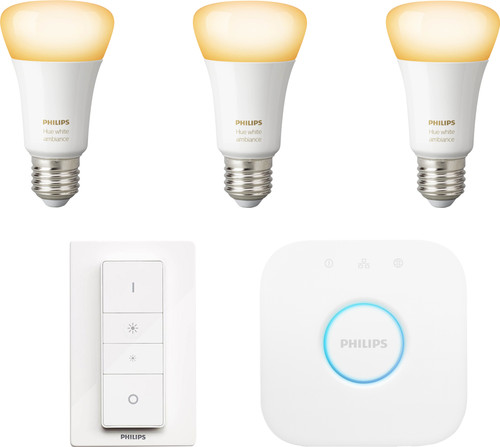 Philips Hue White Ambiance Starter Pack E27 Main Image