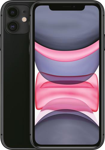 Apple iPhone 11 128 GB Zwart Main Image