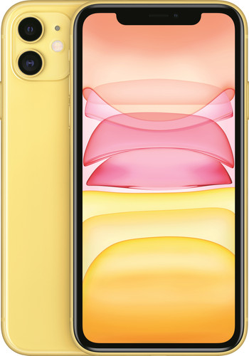 Apple iPhone 11 128 GB Geel Main Image
