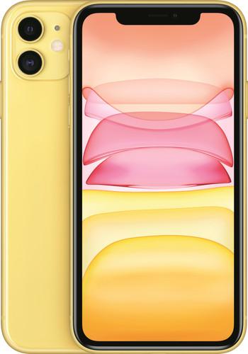 Apple iPhone 11 256 GB Geel Main Image