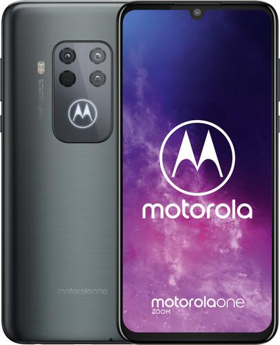 Motorola One Zoom Gris