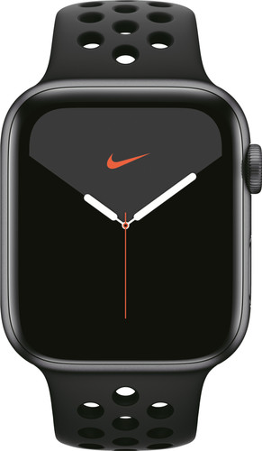 Apple Watch Nike Series 5 44mm Space Gray Aluminum/Black Sport Band Main Image