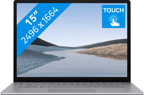 "Microsoft Surface Laptop 3 15"" a9 - 8 GB - 128 GB Platinum Azerty Main Image"