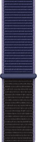 Apple Watch 38/40mm Nylon Sport Loop Watch Strap Midnight Blue Main Image