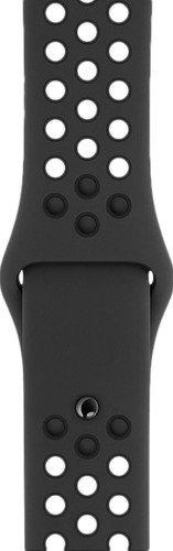 Apple Watch 42/44mm Silicone Watch Strap Nike Sport Anthracite/Black Main Image