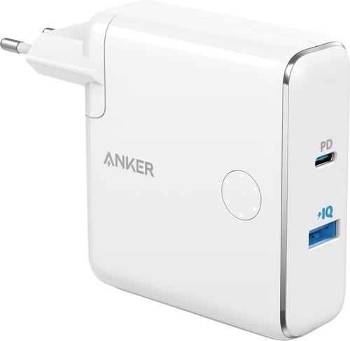 Anker PowerCore Fusion Chargeur et Batterie externe 5000 mAh Power Delivery Blanc Main Image