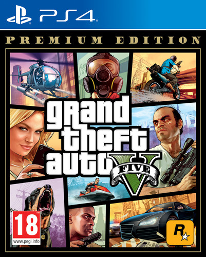 Grand Theft Auto V (GTA 5) Premium Edition PS4 Main Image