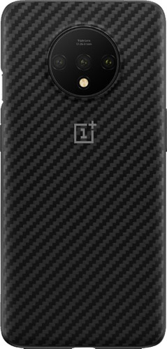 OnePlus 7T Karbon Bumper Case Back Cover Black Main Image