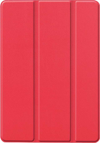 Just in Case Smart Tri-Fold Apple iPad (2019) Book Case Rouge Main Image