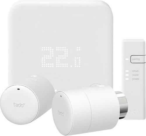Tado Smart Thermostat V3+ Starter Pack + 2 Radiator Knobs Main Image