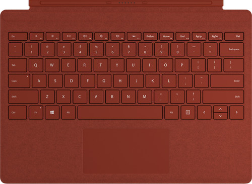 Microsoft Surface Cover AZERTY Rouge Main Image